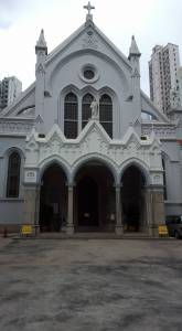 Front of Immaculate Conception cathedral