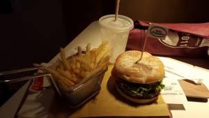 McDonalds lunch in Hong Kong