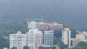 Our Maryknoll House on hills of Stanley