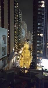 Ventris Hill at night