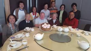 Giant steamed dumplings - Chinese birthday treat