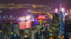 NYE Fireworks Hong Kong 3