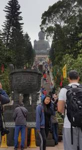 Stairs to Buddha
