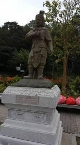 Statues of gods