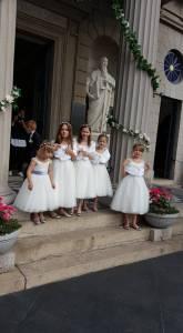 Wedding Flower Girls ready