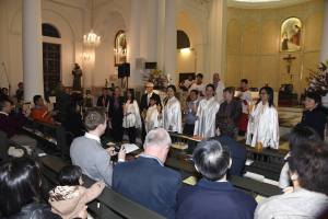 Easter 2016 - Presenting newly initiated to the community