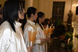 Easter 2016 - Receiving the Light of Christ and preparing for Confirmation