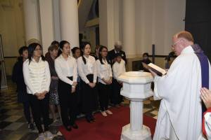 Easter 2016 - Renunciation and Profession of Faith by candidates