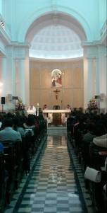 easter Sunday nave