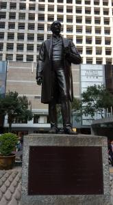 HSBC founder in Statue Square