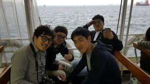 Korean seminarians on Star Ferry