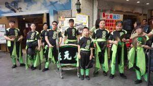 Lion Dancer troupe