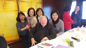 With some catholic Women's group members